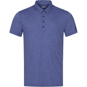 super.natural Everyday Poloshirt Heren, coastal fjord melange